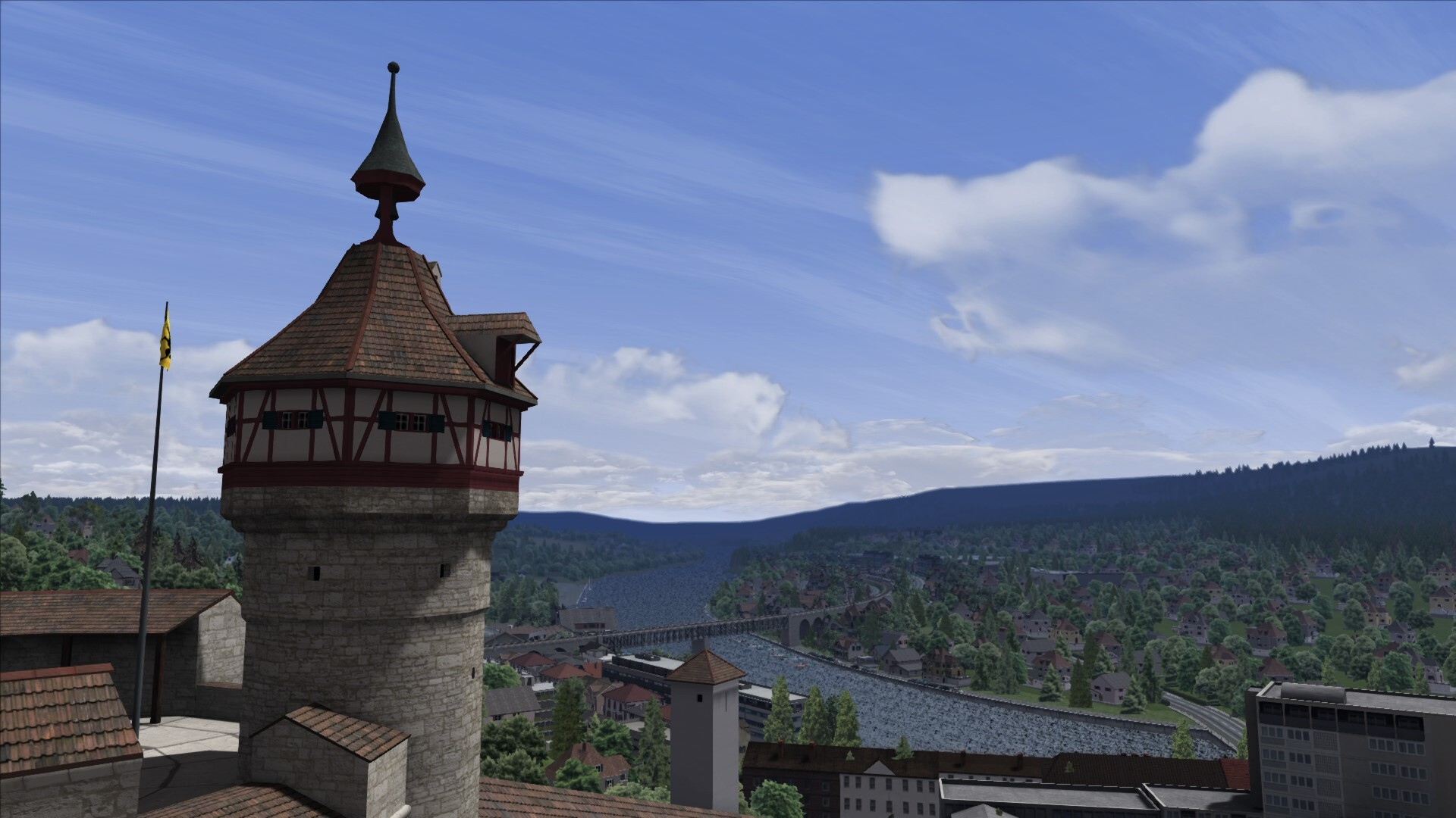 Click image for larger version  Name: Munot Fortress in Schaffhausen.jpg Views: 324 Size: 304.1 KB ID: 1076